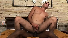 Mixing BBC with spicy Latin meat makes for a very hot gay encounter